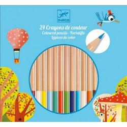 Crayons de Couleur 24 Pièces - Djeco