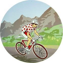 Cut Out Cycliste