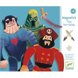 Puzzle Magnétique The Terribles - Djeco