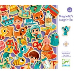 Magnets Magniville - Djeco