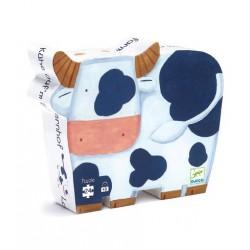 Puzzle Les Vaches à la Ferme 24 Pièces - Djeco
