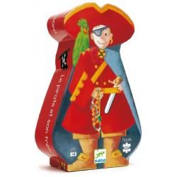 Puzzle Le pirate et son trésor 36 pièces - Djeco