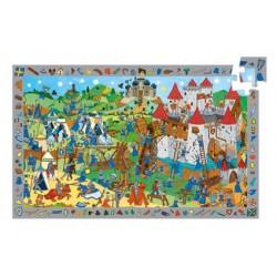 Puzzle d'observation - Chevaliers 54 pièces