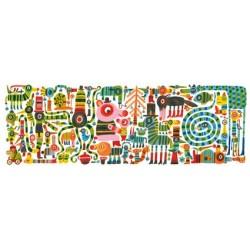 Puzzle Gallery Zebrissimo 200 Pièces - Djeco