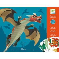 Paper Toy Dragon Géant - Djeco