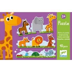 Puzzle Petits et Grands - Djeco