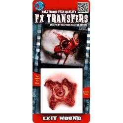 Blessures 3D Blessure Ouverte Transfert à l'Eau