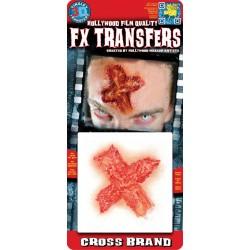 Blessure 3D Plaie Croix Transfert à l'Eau