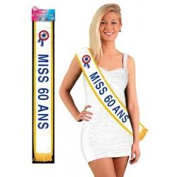 Echarpe Miss 60 Ans