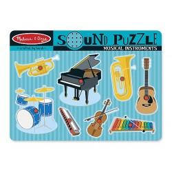 Puzzle Sonore à Encastrements Les Instruments de Musique - Melissa & Doug