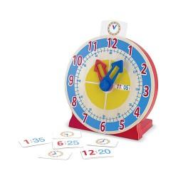 Horloge Tourne et Dis l'Heure - Melissa & Doug
