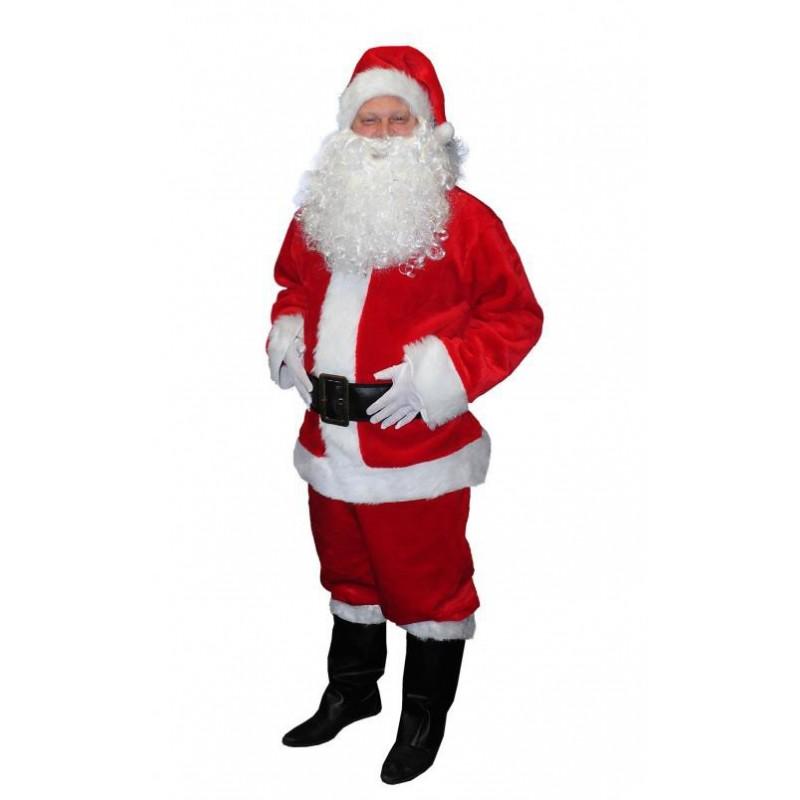 Costume de Père Noël US Complet