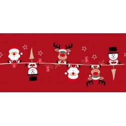 Chemin de Table Famille Noël