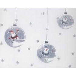 Chemin de Table Boules de Noël