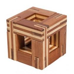 Casse-Tête en Bambou Cube Magique - Gigamic