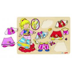 Puzzle à Habiller Petite Princesse - Goki