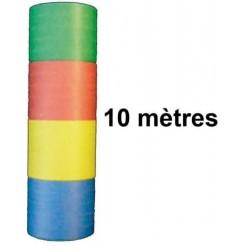 Serpentins Papier 4 Couleurs 4 Mètres