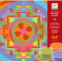 Sable Coloré Mandalas Tibétains - Djeco