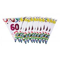 Guirlande Fanions Anniversaire 60 Ans