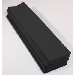 Papier Crépon 75% Noir