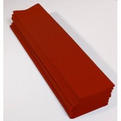 Papier Crépon 75% Brique