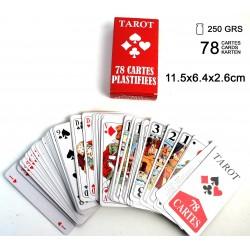 Jeu de Tarot Cartes Plastifiées