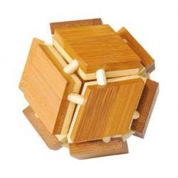 Casse-Tête en Bambou Cube - Gigamic