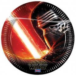Assiette Jetable Star Wars VII