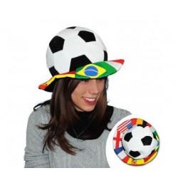 Chapeau Ballon de Foot Pays
