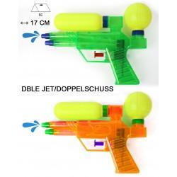 Pistolet à Eau Double Jets et Réservoirs