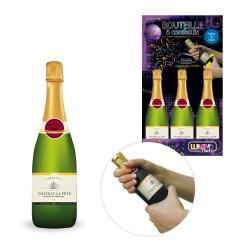 Bouteille de Champagne Lance Confettis