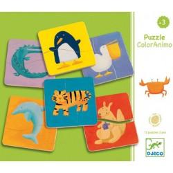Puzzle Magnétique ColorAnimo - Djeco