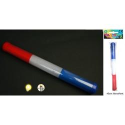 Bâton Lumineux Bleu Blanc Rouge 45cm