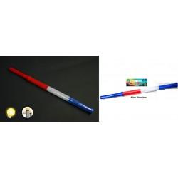 Bâton Lumineux Bleu Blanc Rouge 46cm