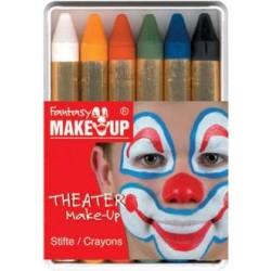 Boîte 6 Crayons de maquillage gras