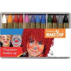 Boite 12 Crayons de maquillage gras