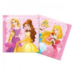 Serviette en Papier Princesse Disney