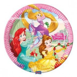 Assiette Jetable Princesses Disney