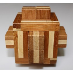 Casse-Tête en Bambou Quadrature - Gigamic