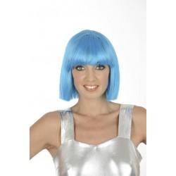 Perruque au Carré Crasy Turquoise