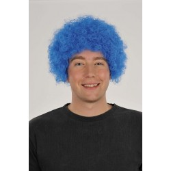 Perruque Pop Bleue