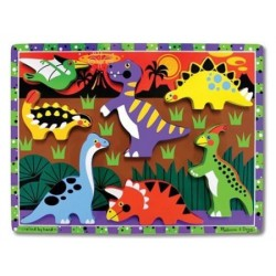 Puzzle à Encastrements Dinosaures - Melissa And Doug