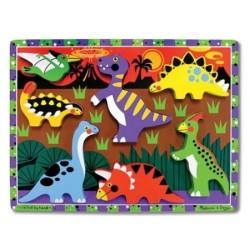 Puzzle à Encastrements Dinosaures - Melissa And Doug