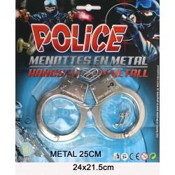 Menottes de Policier Métal