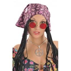 Lunettes Hippie Rouge