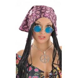 Lunettes Hippie Bleu