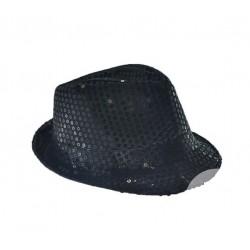 Chapeau Borsalino Sequins Noir
