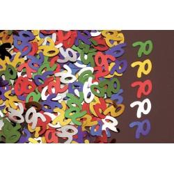 Confettis de Table Chiffre 70