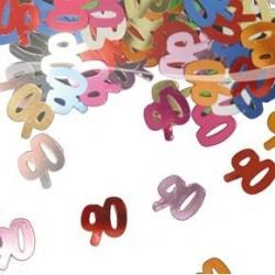Confettis de Table Chiffre 90