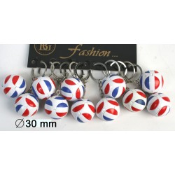 Porte Clés Ballon de Foot France